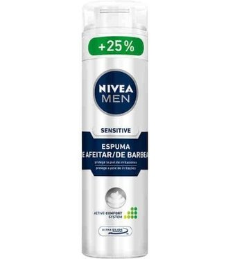 Nivea pena na hol. 200+50ml sensitive